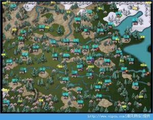 三国大时代4全地图汇总:附隐藏地图图片1