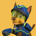 卡通狗狗消防警察游戏