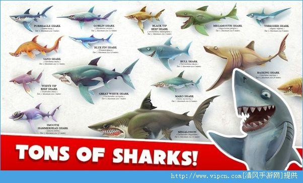 饥饿鲨鱼世界3D中文破解版图片2