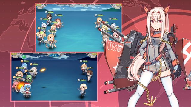 战舰少女rCBT测试服图片1