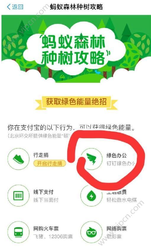 蚂蚁森林绿色办公是什么?蚂蚁森林钉钉绿色办公有什么作用?[图]
