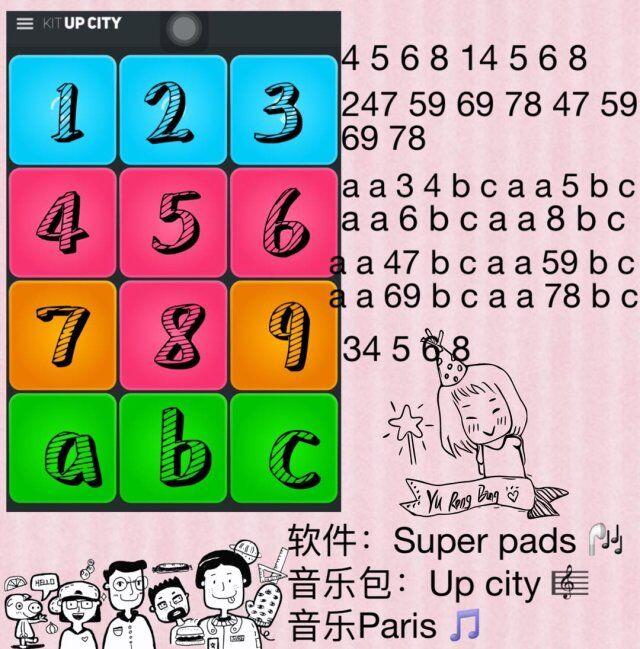 super pads教程Paris数字谱子大全介绍:Paris谱子怎么演奏[图]