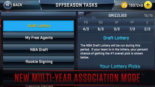 NBA 2K18手机版图片2