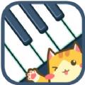 猫咪弹钢琴游戏
