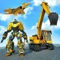 挖掘飞行机器人游戏