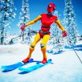 滑雪板下坡滑雪山地冒险游戏安卓版 v0.1
